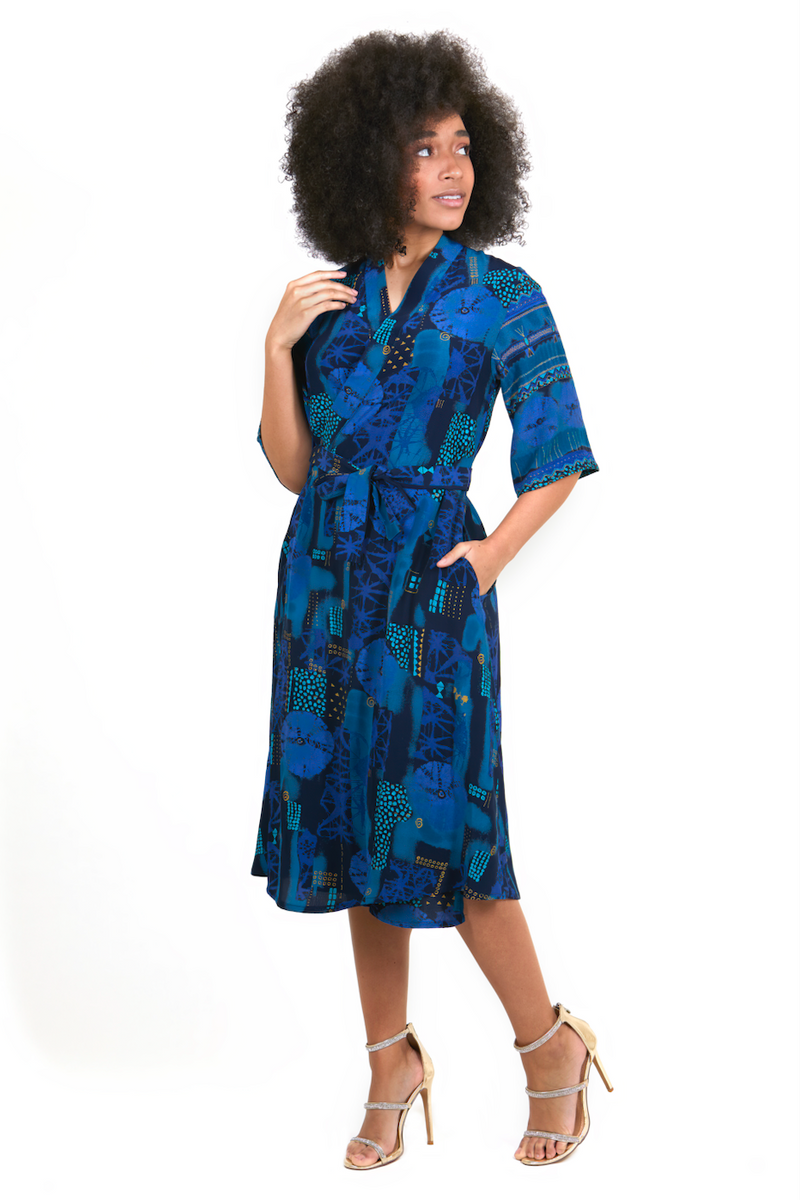 PFI Designer Pattern | Francis Wrap Dress