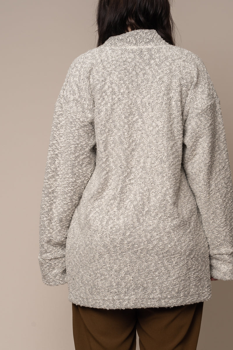 Silver-Pebble-Knit-Cardigan