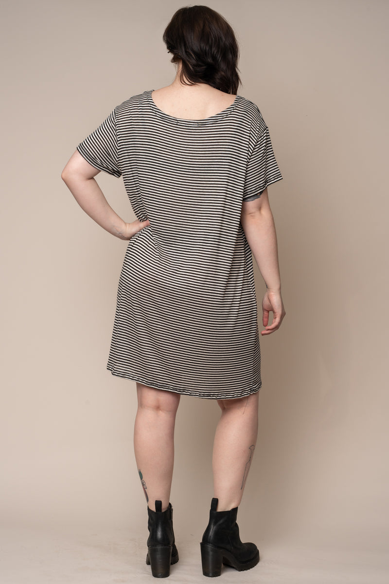 stripe-t-shirt-dress-short