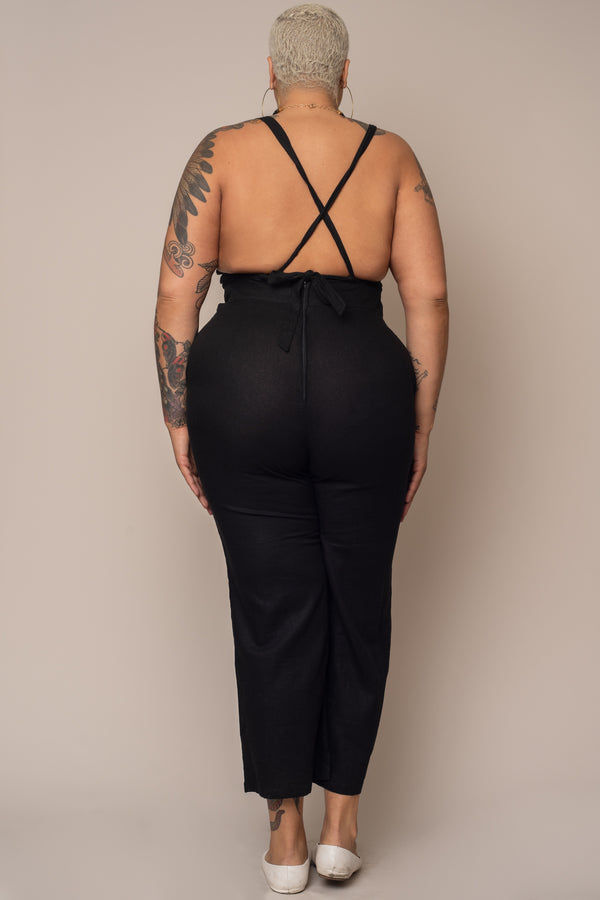 Yolked-Juniper-jumpsuit-in-Black-Linen