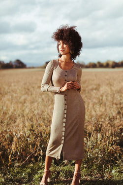 Ila Dress in Oro *FINAL SALE*