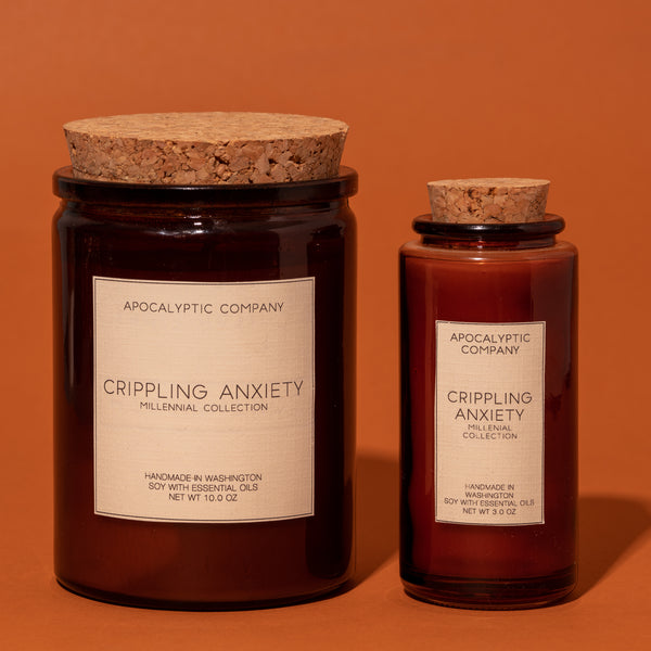 Crippling Anxiety Candles
