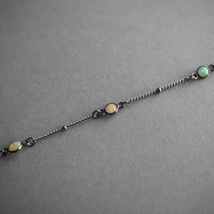 Dotted Opal Choker, Jewelry, Iron Oxide - Altar PDX
