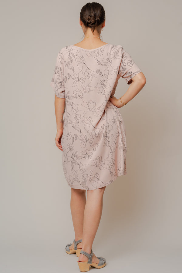 Dusty-Rose-Flowers-Tea-Dress