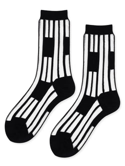 Keys Sheer Crew Socks