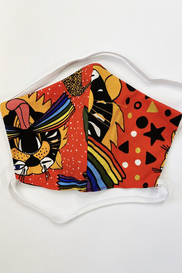 Pride Tiger Face Mask