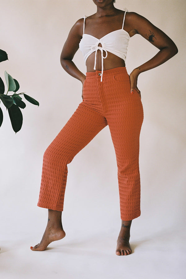 Kalypso Trouser in Rust