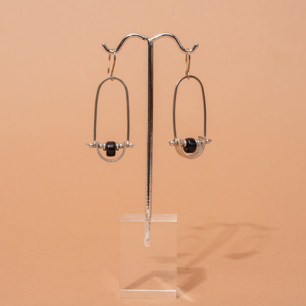 Modern Swing Earrings - Bronze or Gold