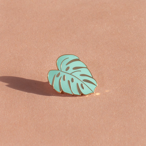 Monstera Lapel Pin