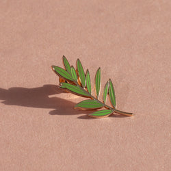 Olive Branch Lapel Pin