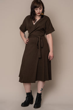 olive-rib-knit-wrap-dress