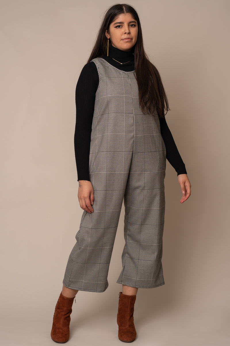 plaid-jumpsuit
