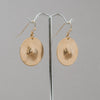 Brass Nips Earrings