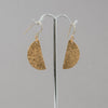 Brass Half Moon Earrings