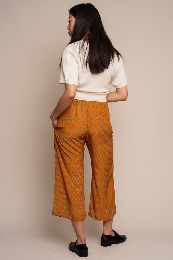 Persimmon Dotted Trouser