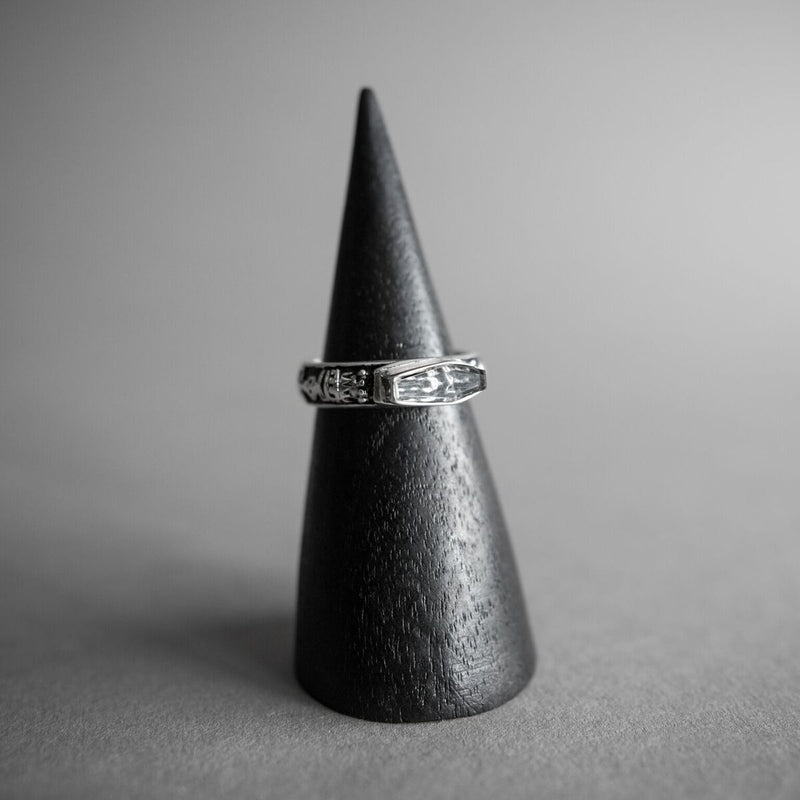 Skeletal Memento Mori Ring, Jewelry, Leviticus Jewelry - Altar PDX