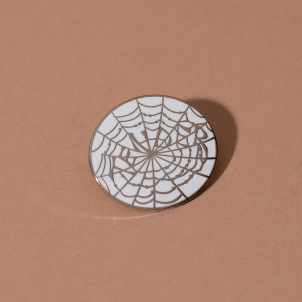 Tender Web Enamel Pin