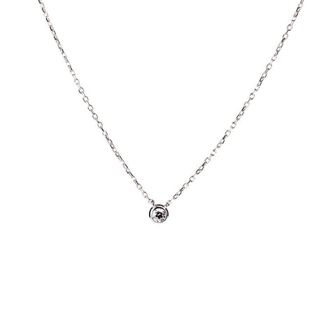 Glint Necklace (3 mm Stone)