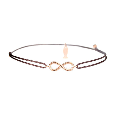 Mini Infinity Bracelet  With String