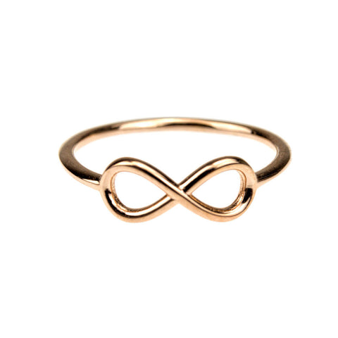 Mini Infinity Ring (Without Stones)
