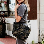 Ava Quilted Camo Crossbody
