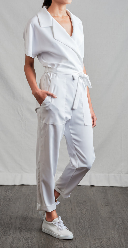 White Out Jumpsuit