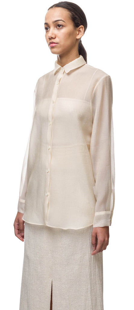 Sheer Organza Blouse