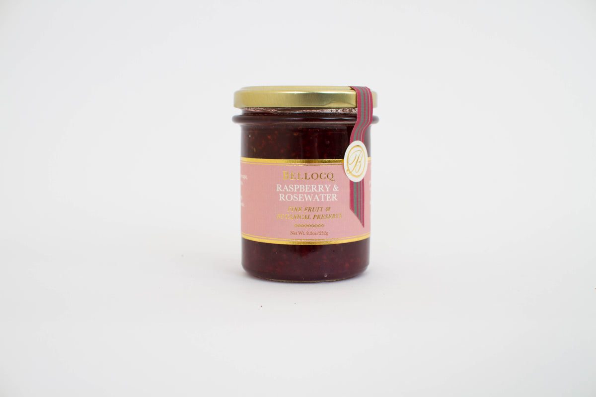 Raspberry and Rose Water Preserves