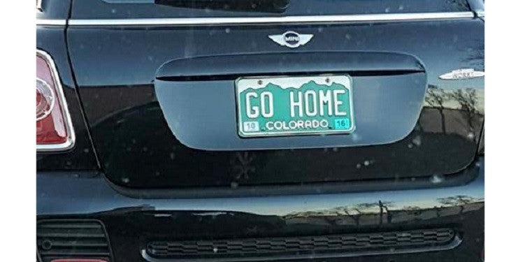 This Drivers License Plates Are Making A Lot Of People Uneasy In Colorado