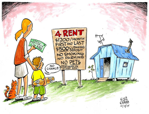 Housing Crisis Cartoon