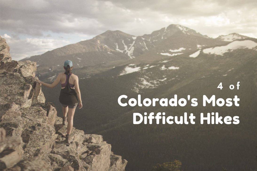 4 of Colorado's Most Difficult Hikes