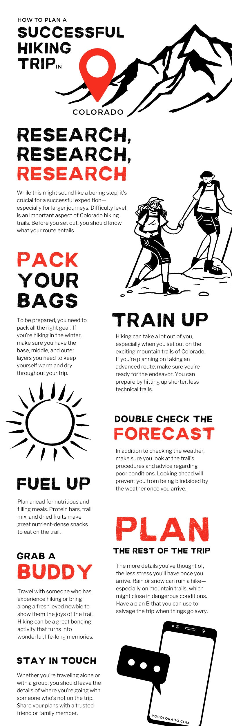 How To Plan a Successful Hiking Trip in Colorado