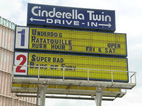 Cinderella Twin Drive-In