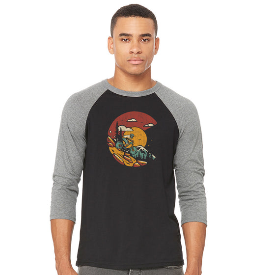 Ride Your Mountain Colorado Raglan Shirt