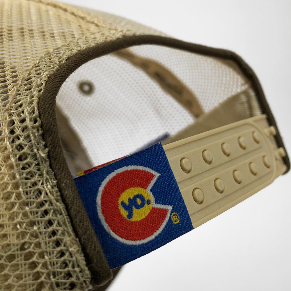 Ski Area Sign Colorado Trucker Hat