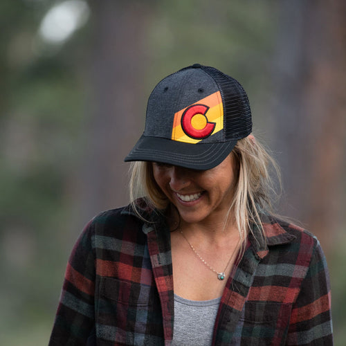 Incline Colorado Trucker Hat - Telluride