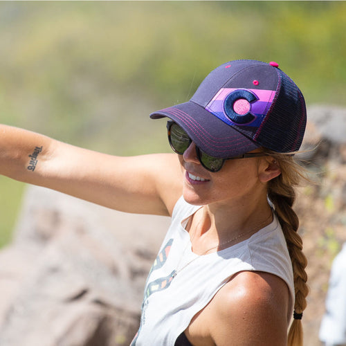 Incline Colorado Trucker Hat - Dolores