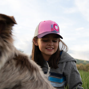 Kids Incline Pink Berry Hat