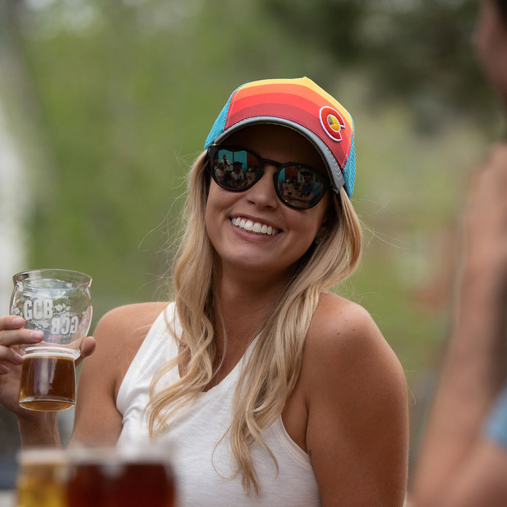 Sunset Fader Trucker Hat