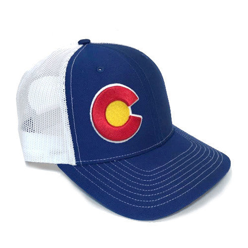 Colorado Royal Side C Trucker Hat