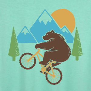 Wheelie Bear Artist Series Flowy Tank Top