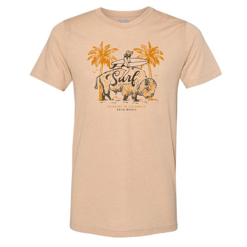 Surf Where You Roam T-Shirt - Sandune