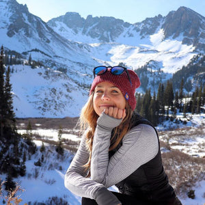 The Wilderness Heather Slouch Beanie
