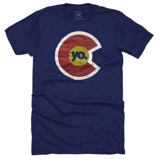 YO COLORADO LOGO T-SHIRT