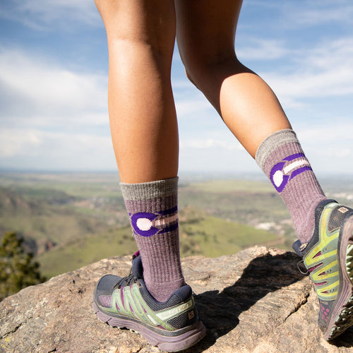 The Morgan Colorado Flag Socks