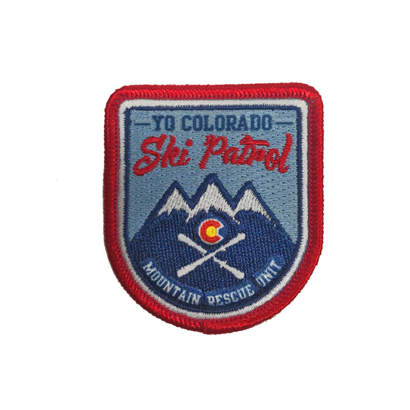 Yo Colorado Ski Patrol Patch
