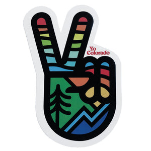 YoColorado Peace Sticker