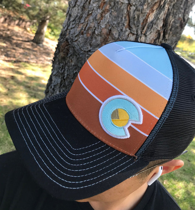 The Royal Gorge Fader Trucker Hat 1