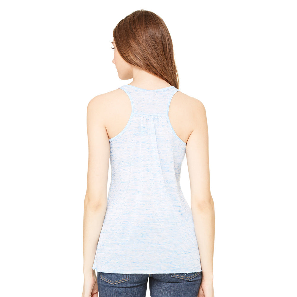 Peace Sign Colorado Light Blue Special Flowy Racerback Tank Top