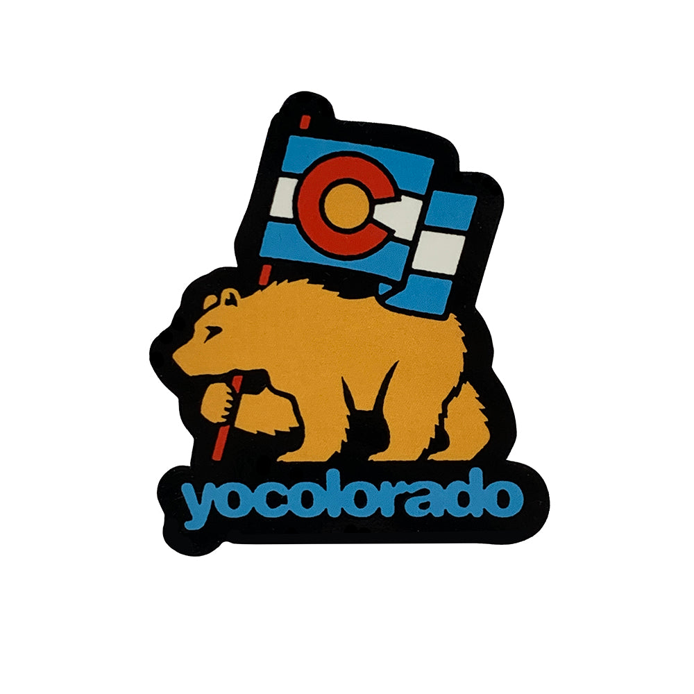 Colorado Bear Flag Sticker